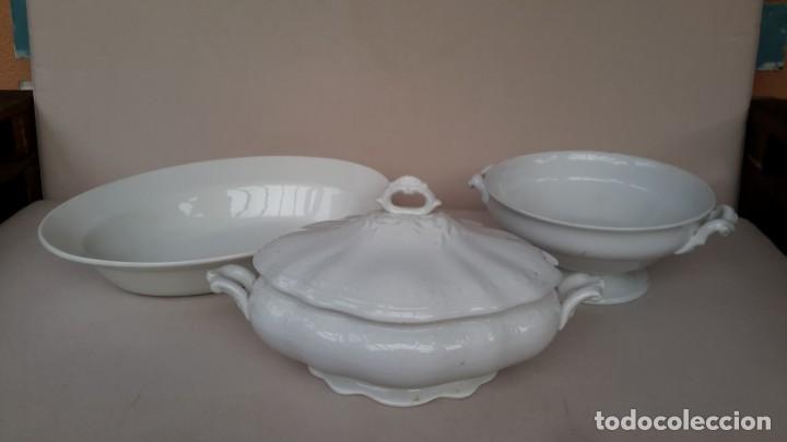 LOTE PORCELANA PICKMAN, LA CARTUJA DE SEVILLA (Antigüedades - Porcelanas y Cerámicas - La Cartuja Pickman)