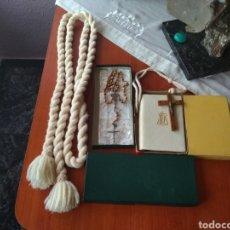 Antigüedades: CONJUNTO ( COMPLETO LITURGIA DE COMUNIÓN NUEVO), AÑOS 50 MÁS ARTÍCULOS RELIGIOSOS EN MI PERFIL.. Lote 169336353