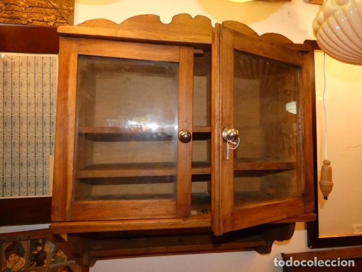 Mueble De Cocina En Madera 60 X 60 X 26 Cms Buy Antique Vitrines