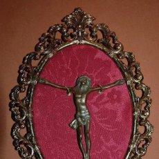 Antigüedades: CRISTO CRUCIFICADO BARROCO EXENTO DE CRUZ SIGLO XVIII-02. Lote 169357132