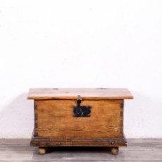 Antigüedades: BAÚL DE NOVIA ANTIGUO. Lote 169408404
