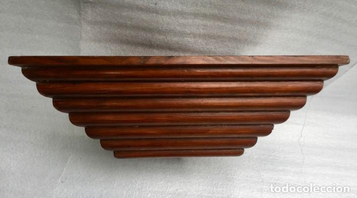 Antigüedades: Ménsula esquinera en madera - Foto 7 - 169431524