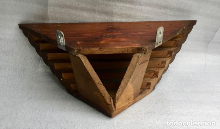 Antigüedades: Ménsula esquinera en madera - Foto 2 - 169431524