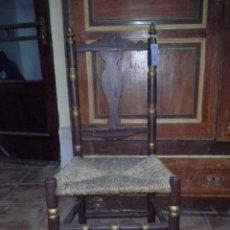 Antigüedades: SILLA ARAGONESA. Lote 169438284