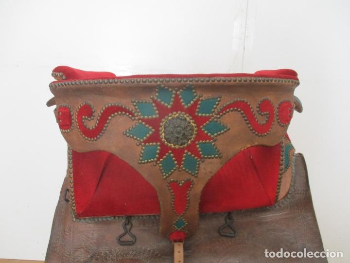 Antigüedades: Preciosa Silla de Montar - de Señora, Novia - S. XVIII - Perfecta - Pieza de colección, Museo - Foto 9 - 169445740