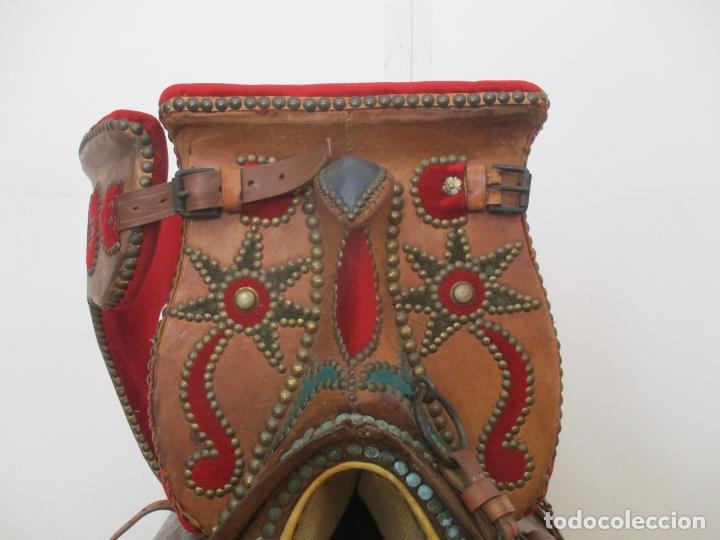 Antigüedades: Preciosa Silla de Montar - de Señora, Novia - S. XVIII - Perfecta - Pieza de colección, Museo - Foto 14 - 169445740