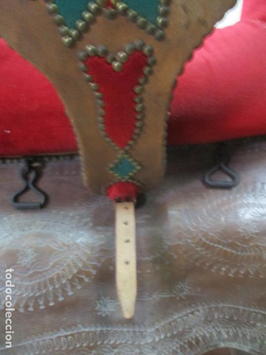 Antigüedades: Preciosa Silla de Montar - de Señora, Novia - S. XVIII - Perfecta - Pieza de colección, Museo - Foto 20 - 169445740