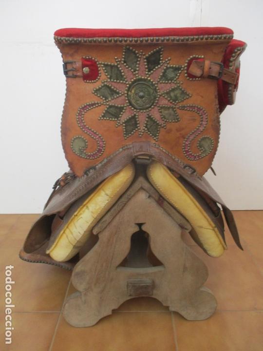 Antigüedades: Preciosa Silla de Montar - de Señora, Novia - S. XVIII - Perfecta - Pieza de colección, Museo - Foto 22 - 169445740