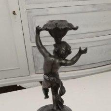 Antigüedades: CANDELABRO SIGLO XIX . Lote 169470508