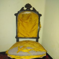 Antigüedades: ANTIGUA SILLA ISABELINA PARA RESTAURAR. Lote 169472564