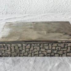 Antigüedades: BONITA CAJA JOYERO BAÑADO EN PLATA - MEDIADOS DEL SIGLO XX.. Lote 169523432