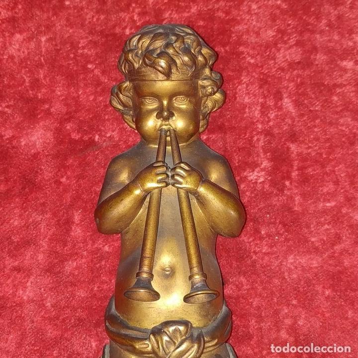Antigüedades: PAREJA DE APLIQUES EN BRONCE DORADO. ESTILO LUIS XVI. FRANCIA. PRIMERA MITAD SIGLO XIX - Foto 4 - 169553408