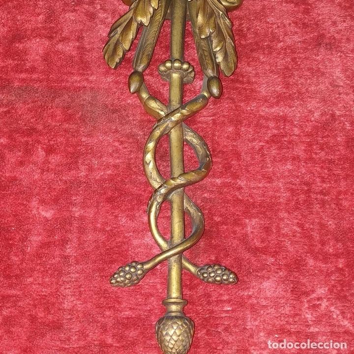 Antigüedades: PAREJA DE APLIQUES EN BRONCE DORADO. ESTILO LUIS XVI. FRANCIA. PRIMERA MITAD SIGLO XIX - Foto 6 - 169553408