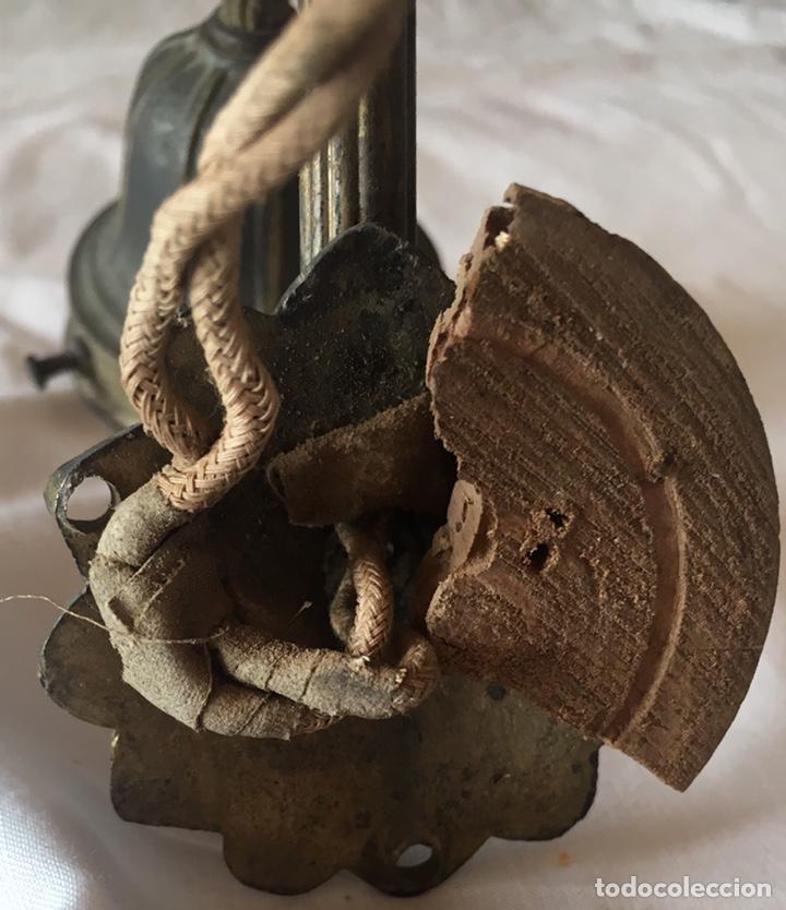 Antigüedades: ANTIGUO APLIQUE BRAZO LÁMPARA MODERNISTA - Foto 4 - 169582528