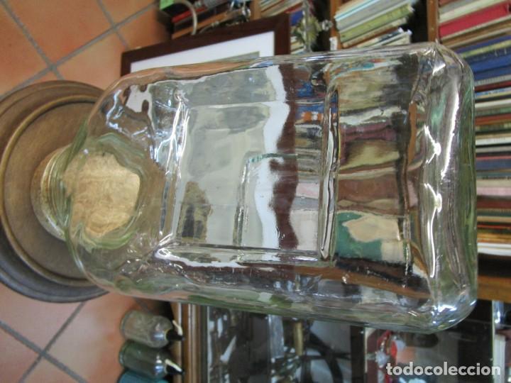 Antigüedades: TARRO CARAMELERO DE CONFITERIA, APILABLE, 33X16X14CM, 2KG, LIMPIO, DE LOS 50'S + INFO 1s - Foto 3 - 169590744