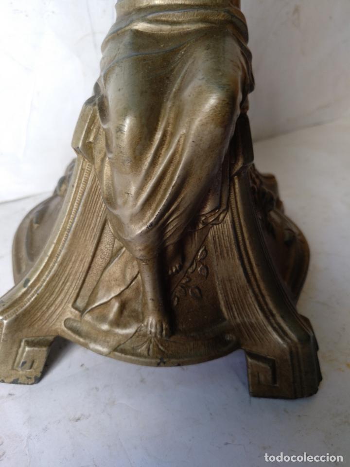 Antigüedades: GRANDE Y ANTIGUO CENTRO ESCULTURA MODERNISTA , ORIGINAL FINAL SIGLO XIX - Foto 3 - 169599704