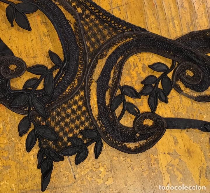 Antigüedades: ENCAJE DE GUIPUR S.XIX - Foto 5 - 169600840