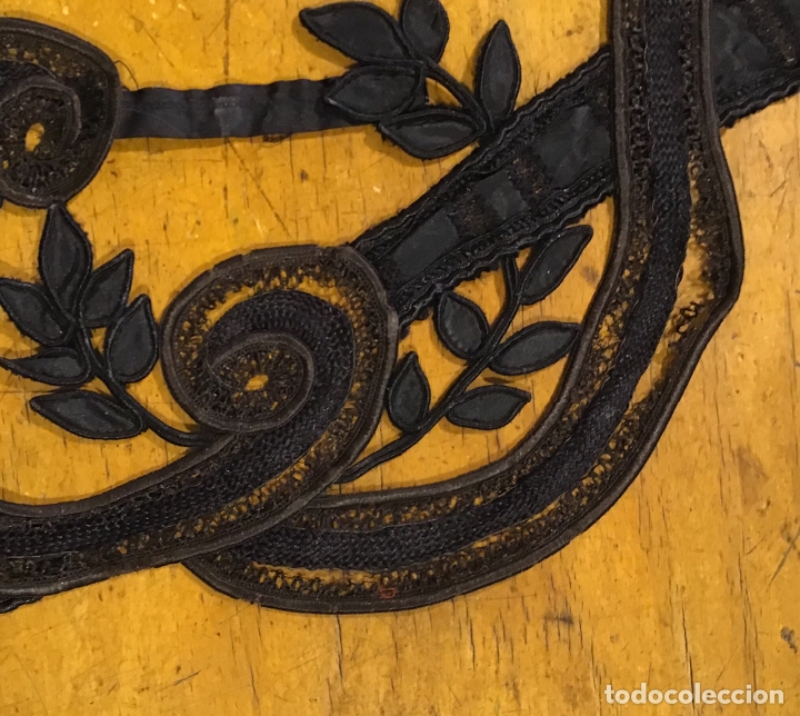 Antigüedades: ENCAJE DE GUIPUR S.XIX - Foto 8 - 169600840