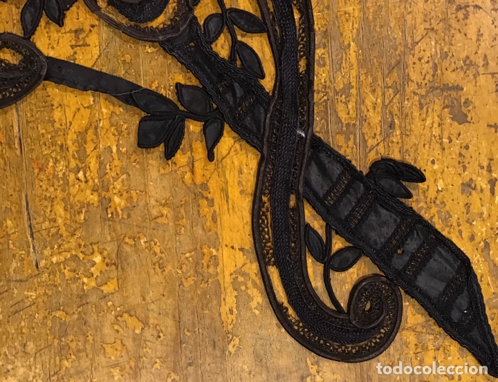 Antigüedades: ENCAJE DE GUIPUR S.XIX - Foto 9 - 169600840