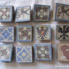 Antigüedades: AZULEJOS OLAMBRILLAS ANTIGUAS. Lote 169610016
