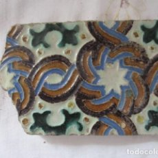Antigüedades: AZULEJO MUY ANTIGUO. Lote 169610660