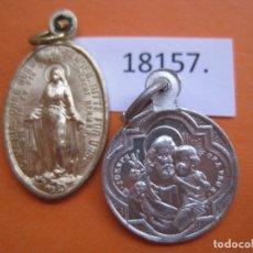 Antigüedades: MEDALLAS RELIGIOSAS LOTE 2. Lote 169615068