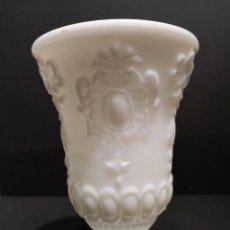 Antigüedades: COPA JARRÓN OPALINA BLANCO. Lote 169654680