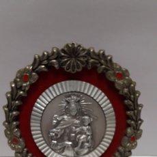 Antigüedades: BONITO RELICARIO VIRGEN DEL CARMEN 9,5 X 7 CM. Lote 169670264