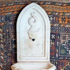 Antigüedades: FUENTE DE PARED. MÁRMOL. ESTILO NEOGLÁSICO. ESPAÑA. SIGLO XIX.. Lote 169675584