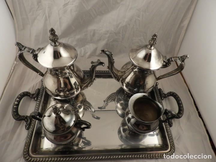 Antigüedades: JUEGO DE CAFE Y TE DE ALCOR - Foto 2 - 169714776