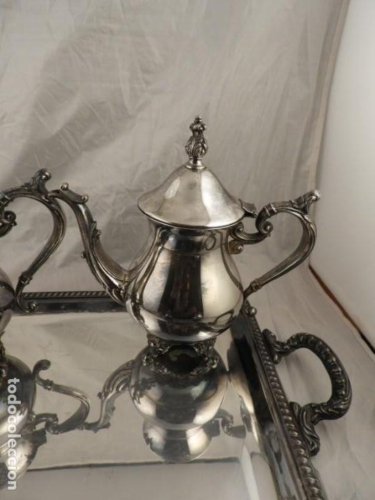 Antigüedades: JUEGO DE CAFE Y TE DE ALCOR - Foto 5 - 169714776