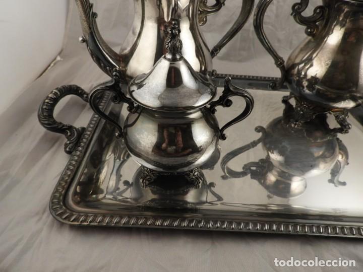 Antigüedades: JUEGO DE CAFE Y TE DE ALCOR - Foto 7 - 169714776