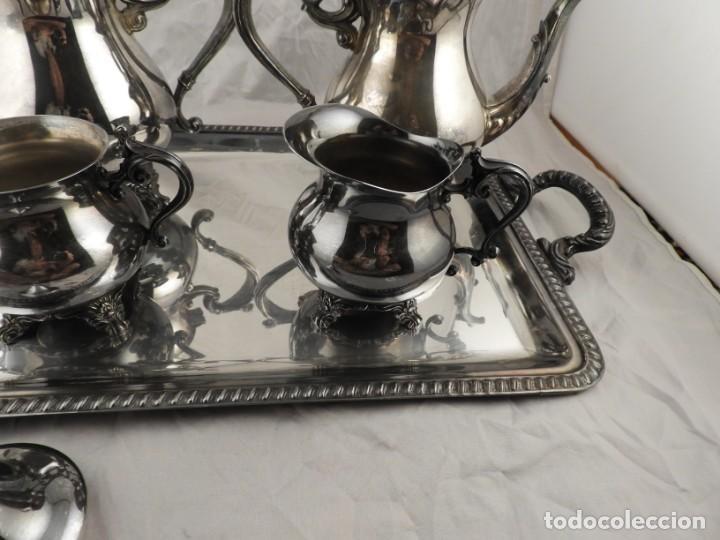 Antigüedades: JUEGO DE CAFE Y TE DE ALCOR - Foto 8 - 169714776