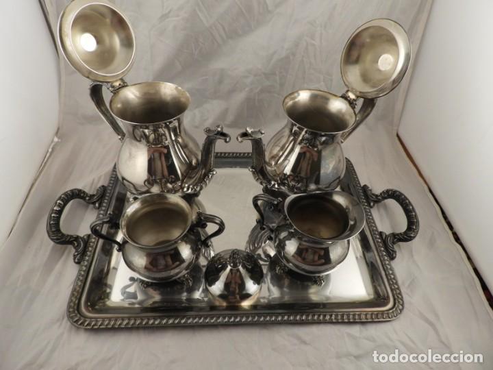 Antigüedades: JUEGO DE CAFE Y TE DE ALCOR - Foto 10 - 169714776