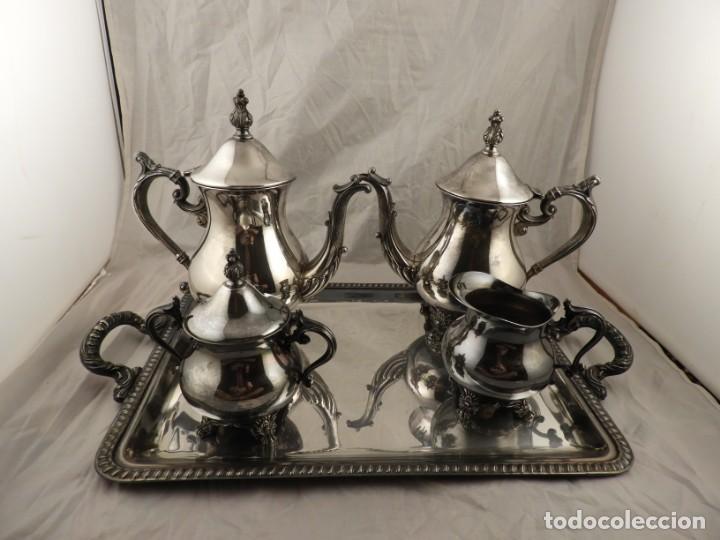 Antigüedades: JUEGO DE CAFE Y TE DE ALCOR - Foto 13 - 169714776