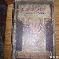 Antigüedades: EL INGENIOSO DON QUIJOTE DE LA MANCHA DE DANIEL URRABIETA 1916. Lote 169733300