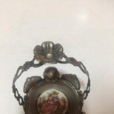 Antigüedades: CANASTITO METAL. Lote 169738324