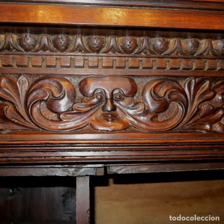 Antigüedades: Antiguo Armario Barroco Tallado. 1750 - 1780 - Foto 11 - 169752576
