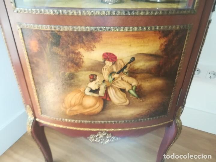 Antigüedades: VITRINA ISABELINA - Foto 3 - 157298114