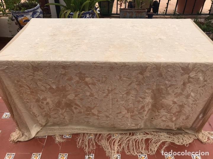 MANTÓN DE MANILA (Antigüedades - Moda - Mantones Antiguos)