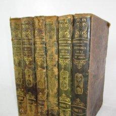 Oggetti Antichi: LIBROS ANTIGUOS DECORATIVOS HISTORIA DE LOS JESUITAS 1853 COMPAÑIA JESUS. Lote 225007303