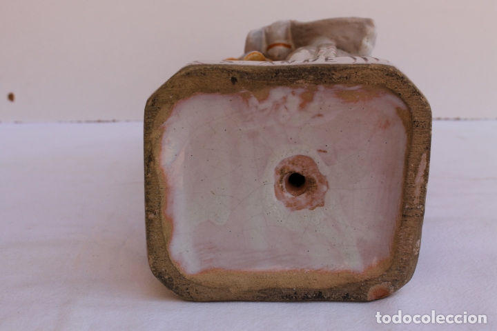 Antigüedades: FIGURA DE CERAMICA SAINTE ANNE - Foto 5 - 169806068