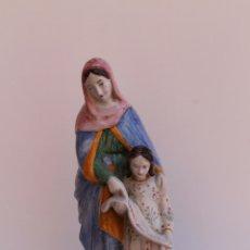 Antigüedades: FIGURA DE CERAMICA SAINTE ANNE. Lote 169806068