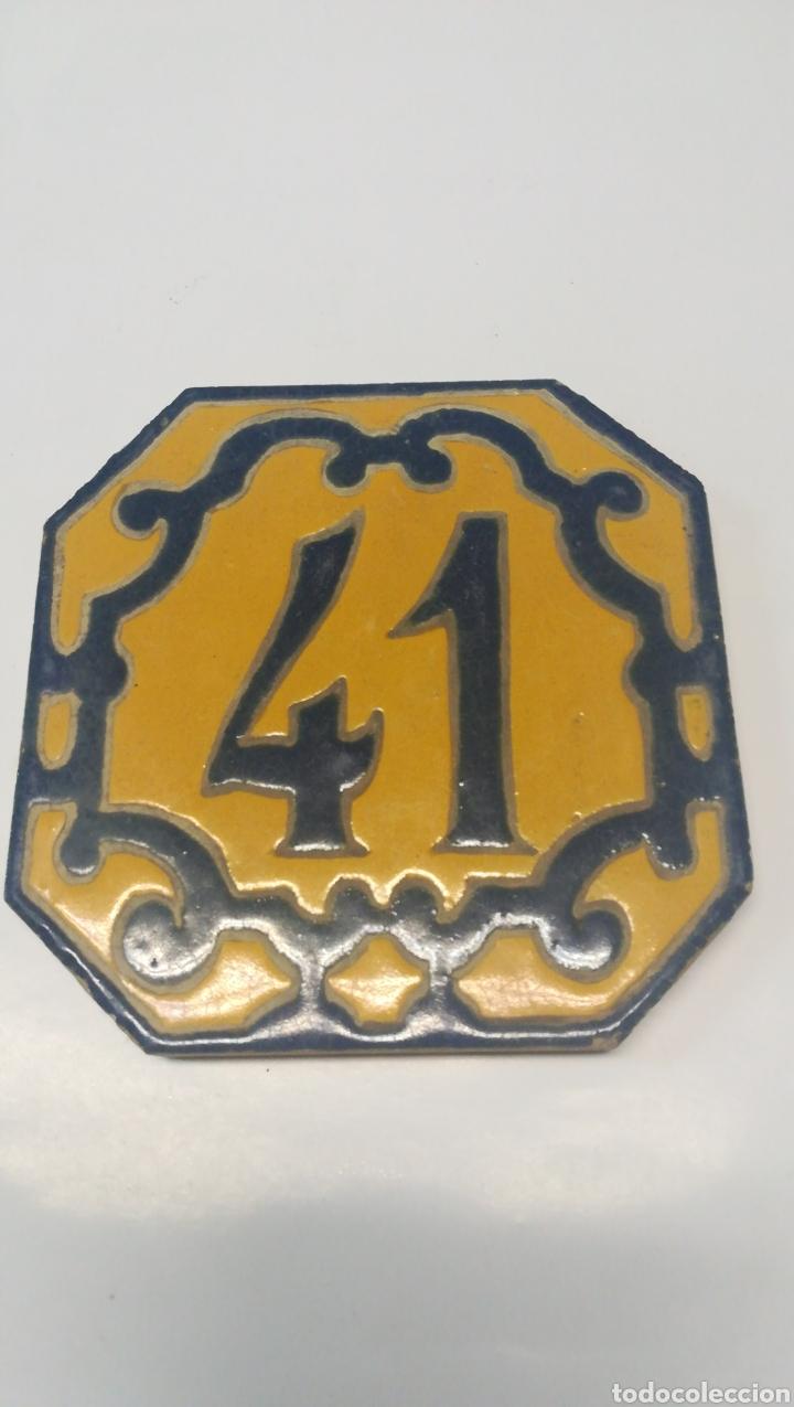 BALDOSA 41 TRIANA (Antigüedades - Porcelanas y Cerámicas - Triana)