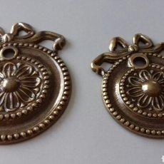 Antigüedades: 2 HERRAJES DE MUEBLES. Lote 169847074