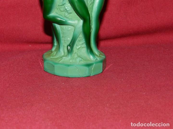 Antigüedades: (M) Art Noveau - Jarro de Art Noveau Original ( No Copia ) Mujeres Desnudas , 13x7 cm - Foto 6 - 169876068