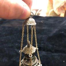 Antigüedades: INCENSARIO BOTAFUMEIRO DE METAL - MEDIDA 12 CM - NIÑO JESUS - RELIGIOSO - SEMANA SANTA. Lote 169888488