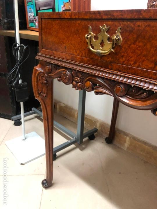 Antigüedades: MAGNIFICA COQUETA PEINADORA IMPERIAL REALIZADA A MANO EN LIMONCILLO - 146X108X58 CM DE PROFUNDIDAD - Foto 2 - 169901044