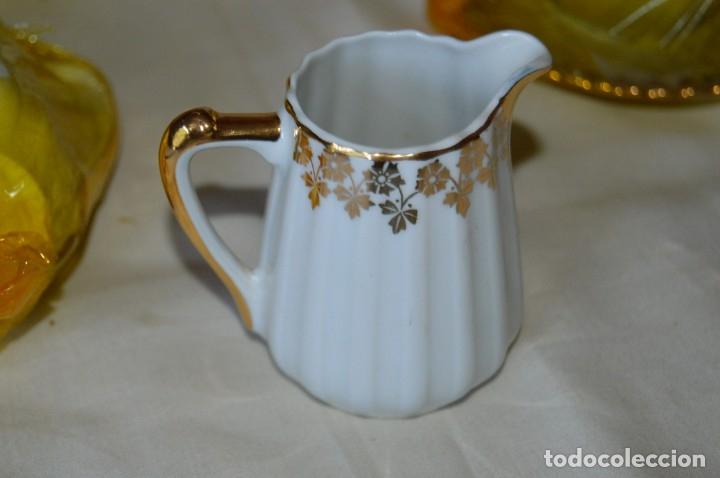 Antigüedades: VINTAGE - NOS - NUEVO, Piezas JUEGO CAFÉ - Porcelanas y cerámica SANTA CLARA - VIGO - AÑOS 60 ¡Mira! - Foto 6 - 169914530