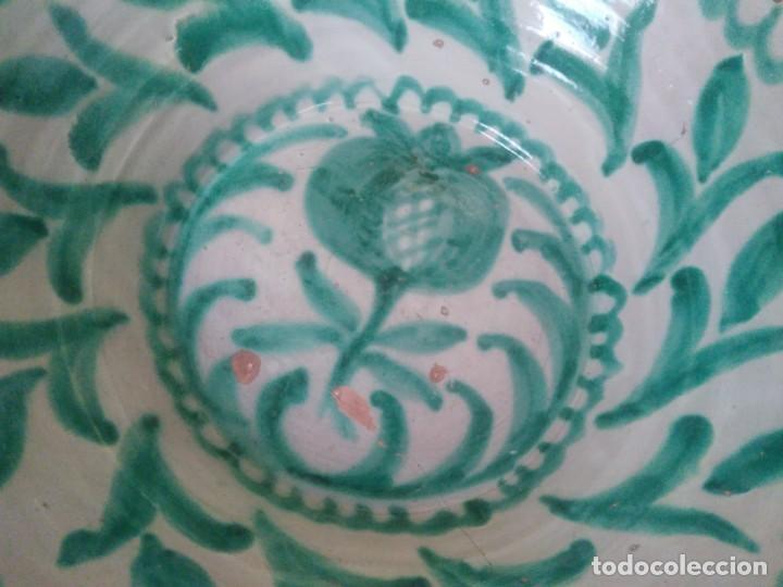 Antigüedades: Lebrillo de cerámica de Fajalauza. 65 cm de diámetro - Foto 2 - 169925280